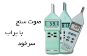 Sound Level Meter with probe